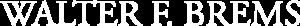 Walter Brems logo wit x2